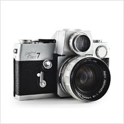 Read about the Petri Flex 7 camera on Vintage Camera Lab