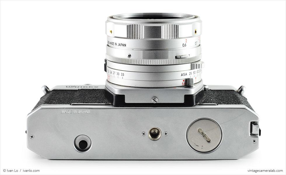 Topcon Unirex (bottom view with UV Topcor 50mm f/2)