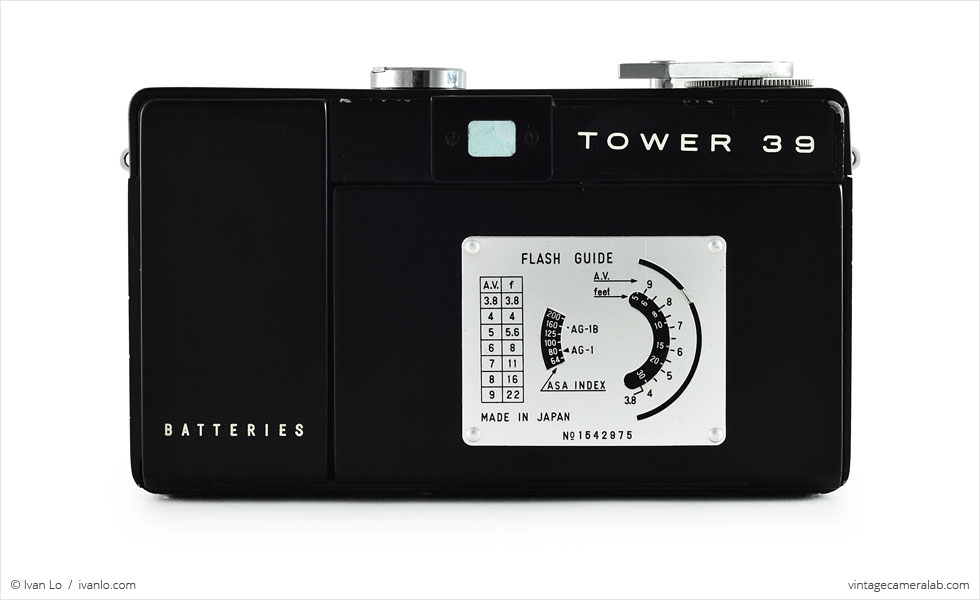 Tower 39 Automatic 35 (rear view)