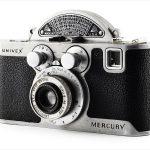 Univex Mercury CC with Tricor 35mm f/3.5 Anastigmat (three quarters)