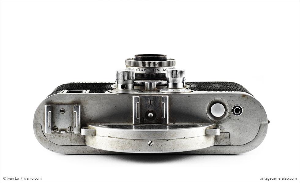 Univex Mercury CC with Tricor 35mm f/3.5 Anastigmat (top view)