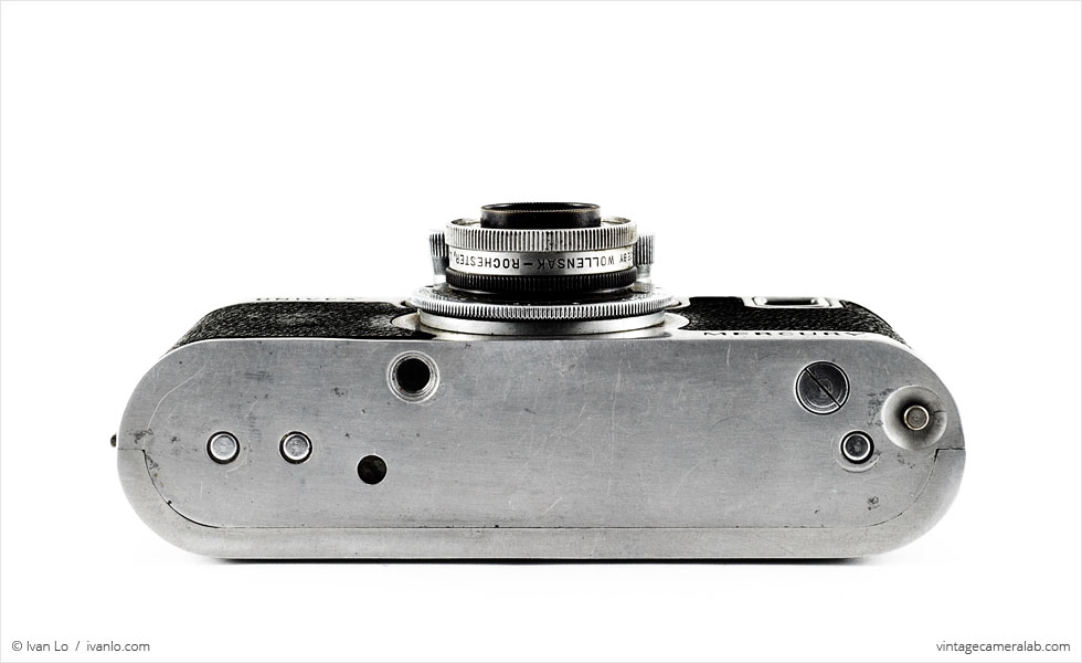 Univex Mercury CC with Tricor 35mm f/3.5 Anastigmat (bottom view)