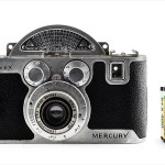 Univex Mercury CC with Tricor 35mm f/3.5 Anastigmat (with 35mm cassette for scale)