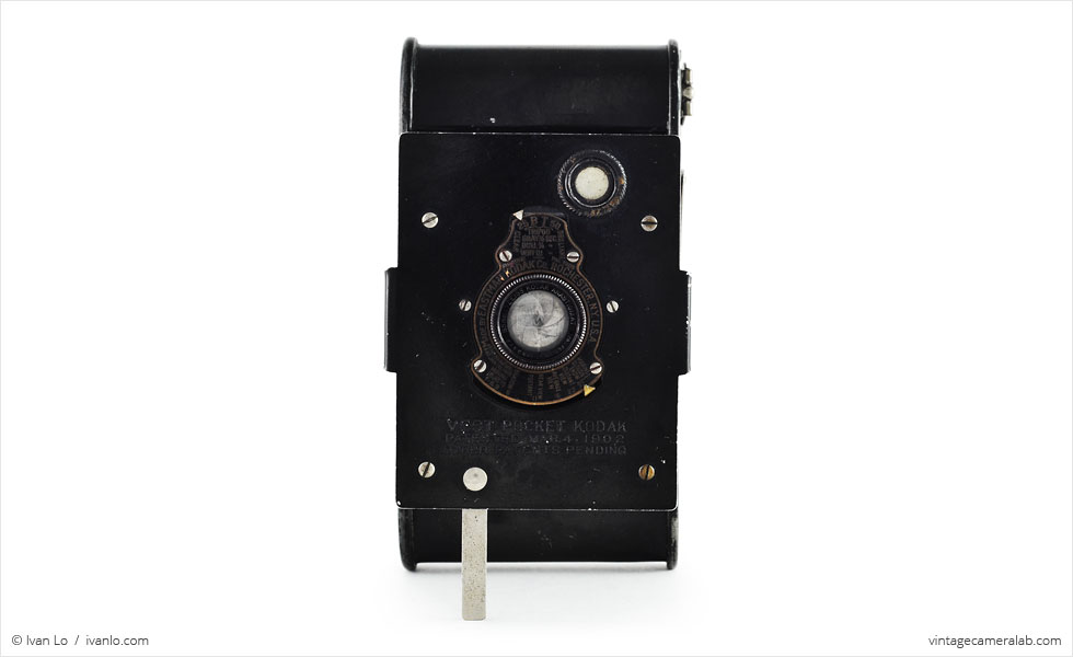 Vest Pocket Kodak (front view, open)