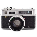 Yashica Electro 35 GS (front view)