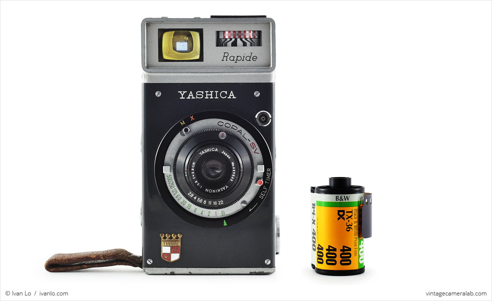 Yashica Rapide (with 35mm cassette for scale)