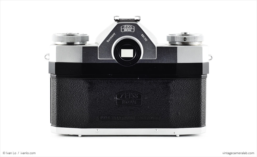 Zeiss Ikon Contaflex I (rear view)