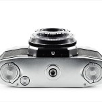 Zeiss Ikon Contaflex I (bottom view)