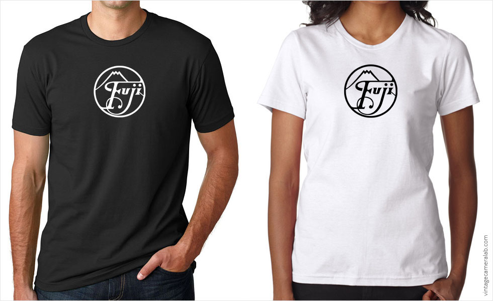 Fujifilm vintage logo t-shirt at Vintage Camera Lab