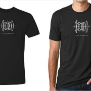 Leica Summilux lens diagram men's black t-shirt at Vintage Camera Lab