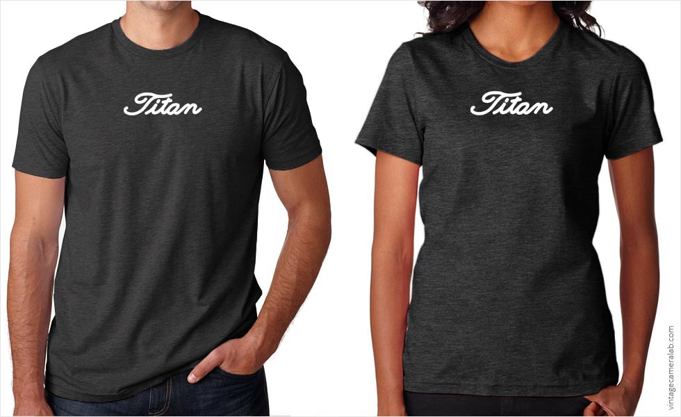 Nikon F2 Titan T-Shirt at Vintage Camera Lab
