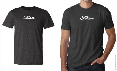 Nikon F2 Titan Men's T-Shirt at Vintage Camera Lab