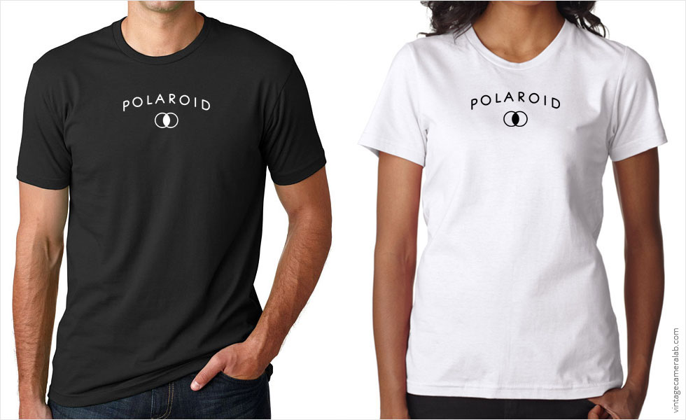 Polaroid vintage logo t-shirt at Vintage Camera Lab