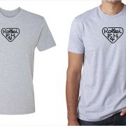 Rollei vintage logo men's grey t-shirt at Vintage Camera Lab