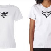 Rollei vintage logo women's white t-shirt at Vintage Camera Lab