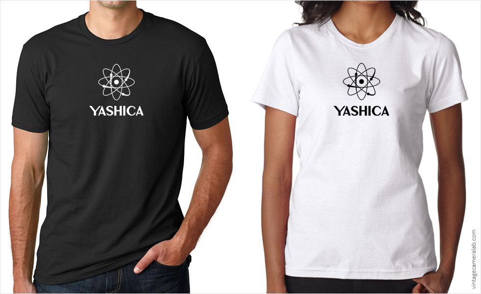 Yashica vintage logo t-shirt at Vintage Camera Lab