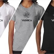 Yashica vintage logo women's t-shirt at Vintage Camera Lab