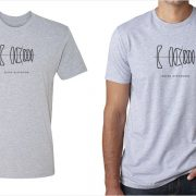 Zeiss Distagon lens diagram men's grey t-shirt at Vintage Camera Lab