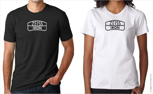 Zeiss Ikon vintage logo t-shirt at Vintage Camera Lab