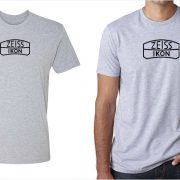 Zeiss Ikon vintage logo men's grey t-shirt at Vintage Camera Lab