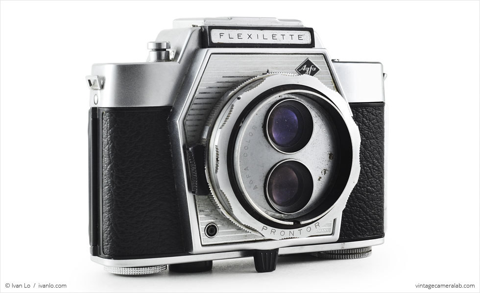 Agfa Flexilette (three-quarter view)