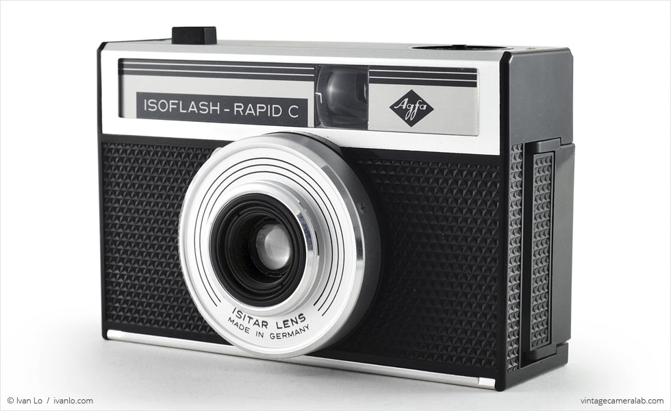 Agfa Isoflash-Rapid C (three-quarter view)