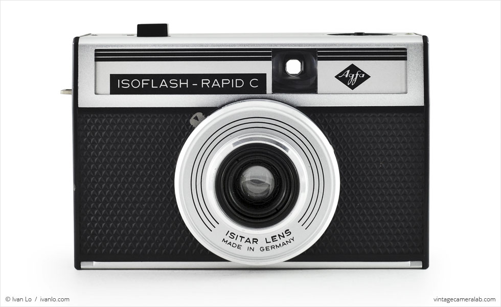 Agfa Isoflash-Rapid C (front view)