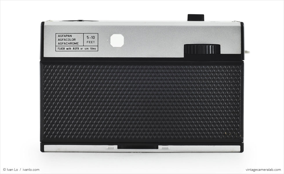 Agfa Isoflash-Rapid C (rear view)
