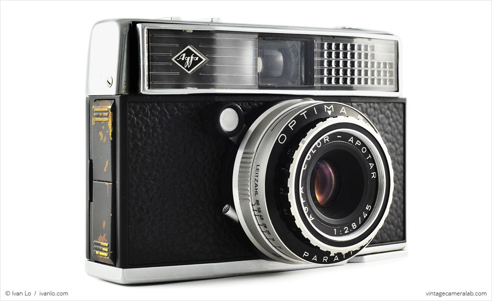 Agfa Optima 500 (three-quarter view)
