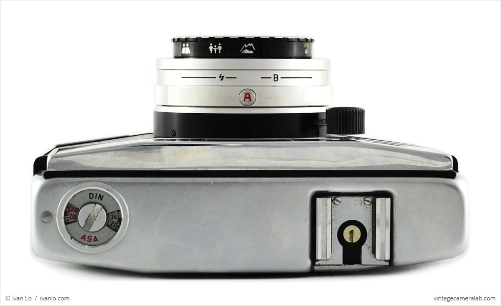 Agfa Optima 500 (top view)