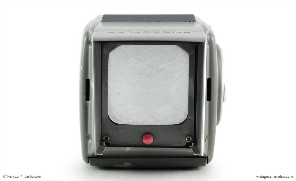 Ansco Anscoflex (top view, viewfinder open)