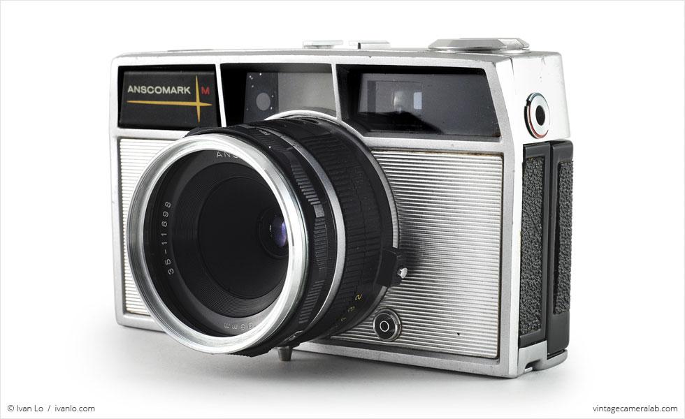 Ansco Anscomark M (three quarters with Ansco Xyton 35mm f/3.5)