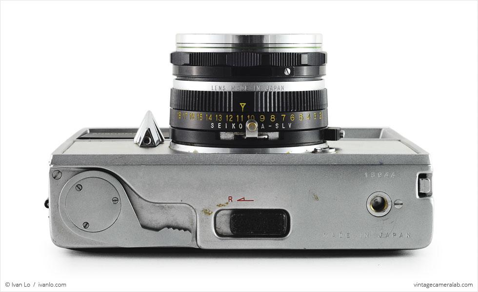 Ansco Anscomark M (bottom view with Ansco Xyton 35mm f/3.5)