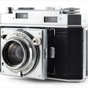 Ansco Karomat (three quarters, lens extended)