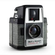 Bell & Howell Electric Eye 127 (three-quarter view)