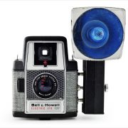 Bell & Howell Electric Eye 127 (with external flash unit)