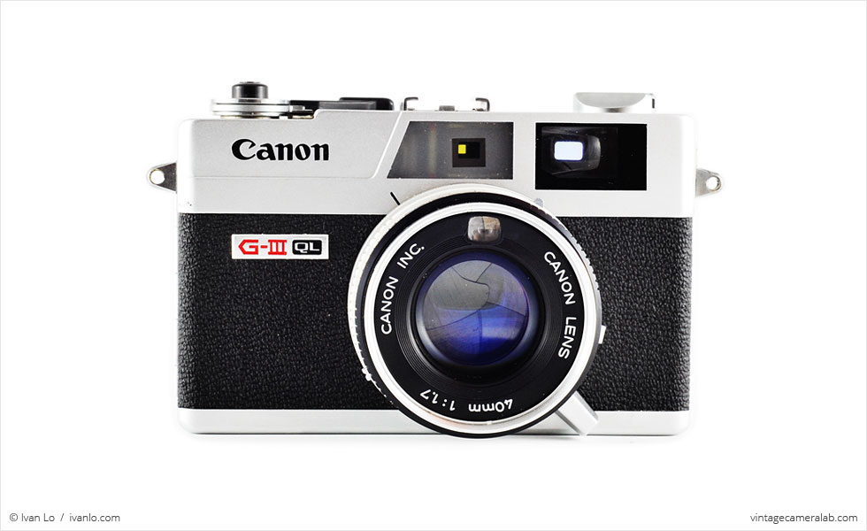 Canon Canonet QL17 G-III (front view)