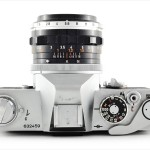 Canon FT QL (top view, with Canon FL 50mm f/1.8)