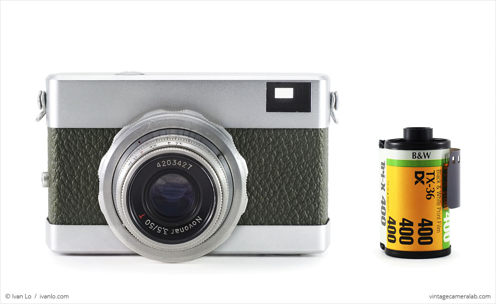 Carl Zeiss Jena Werra (with 35mm cassette for scale)