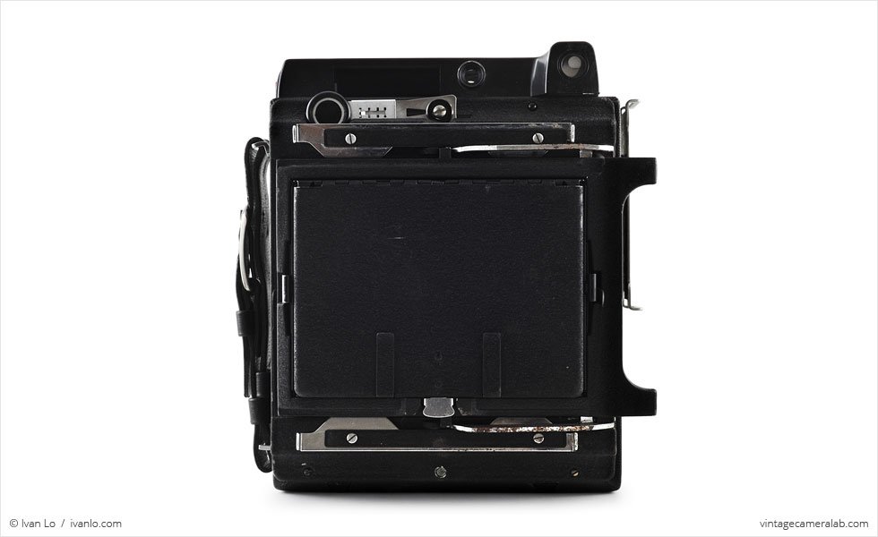 Graflex Crown Graphic (rear view)