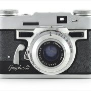 Graflex Graphic 35 (front view)