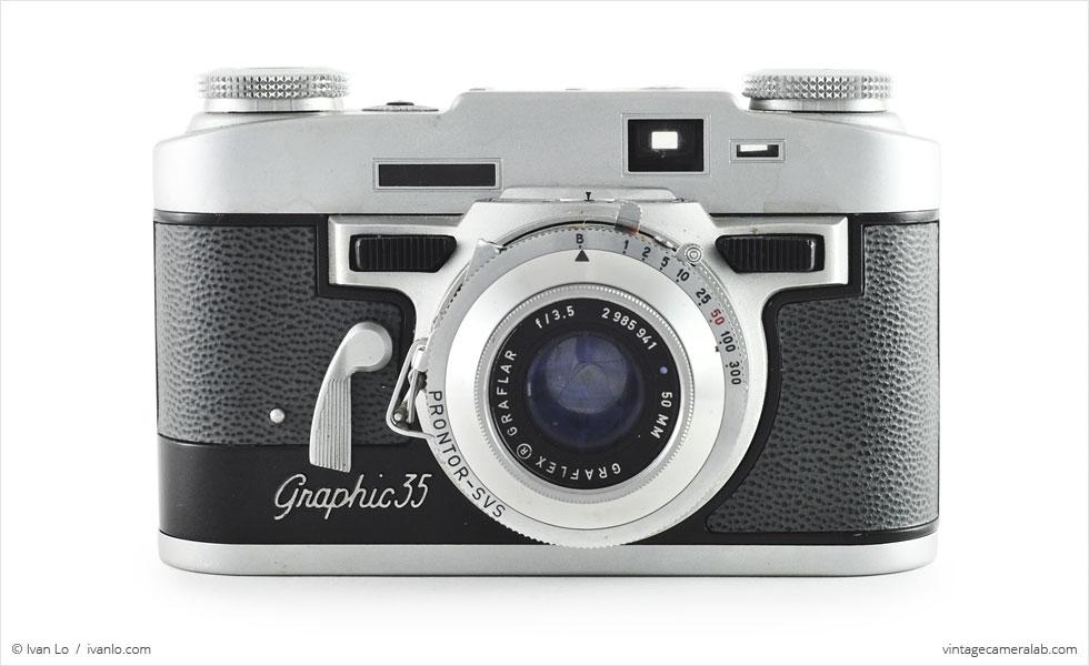 Graflex Graphic 35 (front view)