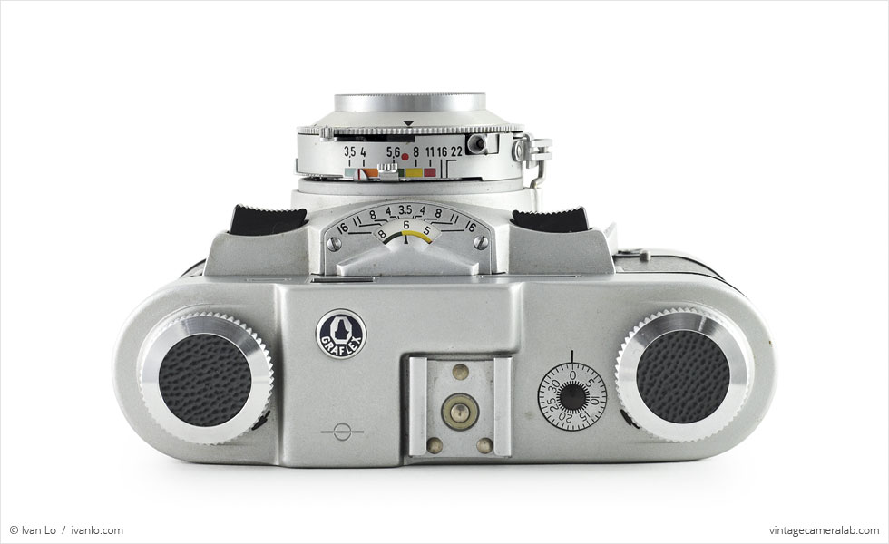 Graflex Graphic 35 (top view)