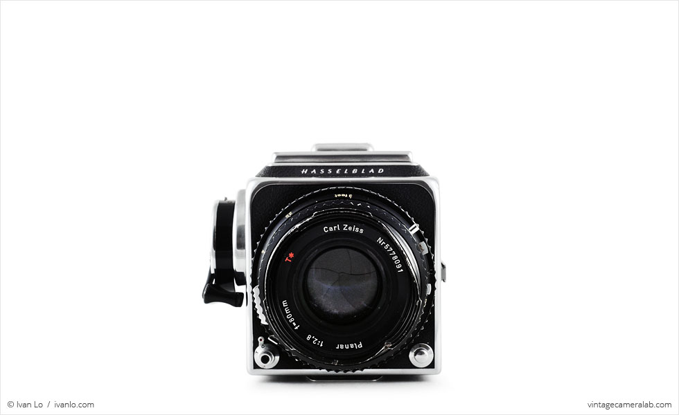 Hasselblad 500 C/M (front view)