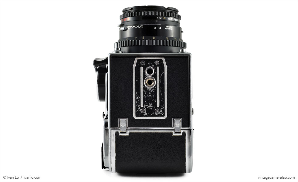Hasselblad 500 C/M (bottom view)