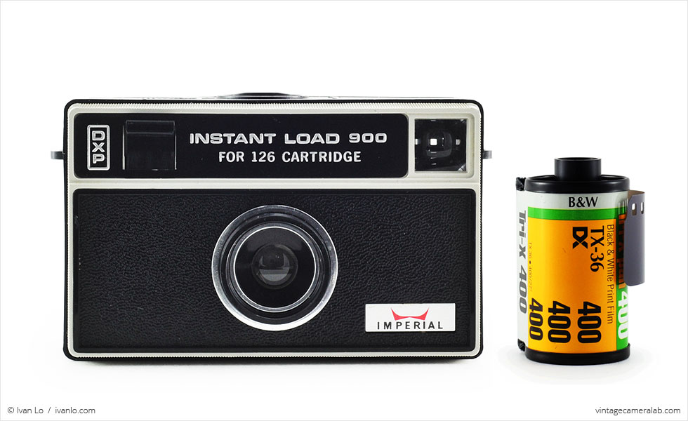 Imperial Instant Load 900 (with 35mm cassette for scale)