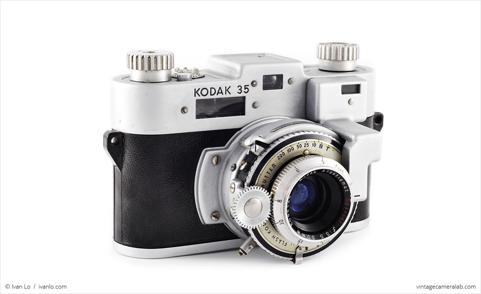 Kodak 35 RF (three-quarter view)