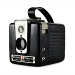 Kodak Brownie Hawkeye (three quarters)