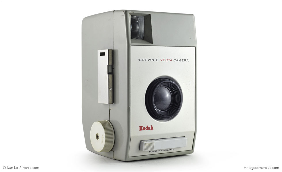 Kodak Brownie Vecta (three-quarter view)