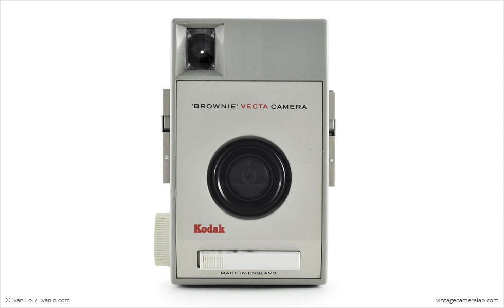 Kodak Brownie Vecta (front view)
